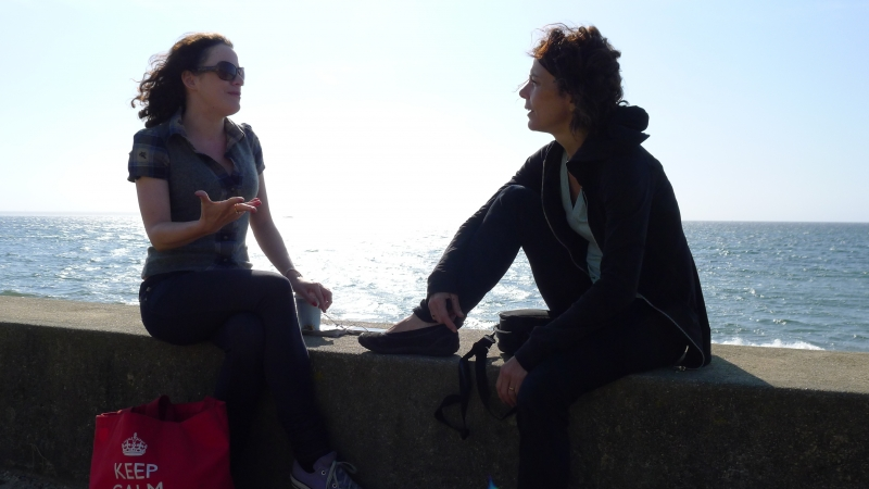 With Beth Bartley in Provincetown 2010 where it all began