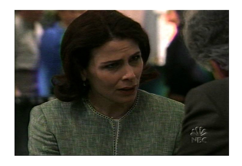 "As Darlene Hackett in ""Law and Order"""